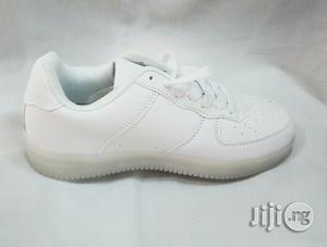 White Led Canvas Sneakers for Kids | Children's Shoes for sale in Lagos State, Lagos Island (Eko)