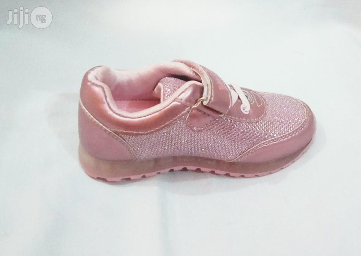 Rose Pink Sneakers   Children's Shoes for sale in Lagos Island (Eko), Lagos State, Nigeria