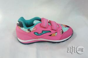 Pink Canvas Sneakers for Girls   Children's Shoes for sale in Lagos State, Lagos Island (Eko)