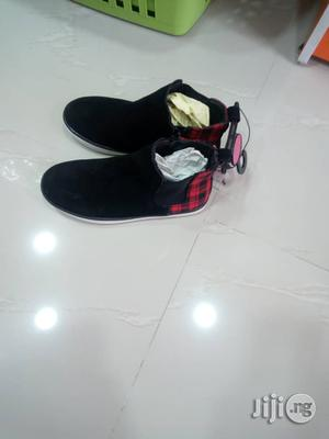 Suede Black Ankle Shoe for Boys   Children's Shoes for sale in Lagos State, Lagos Island (Eko)