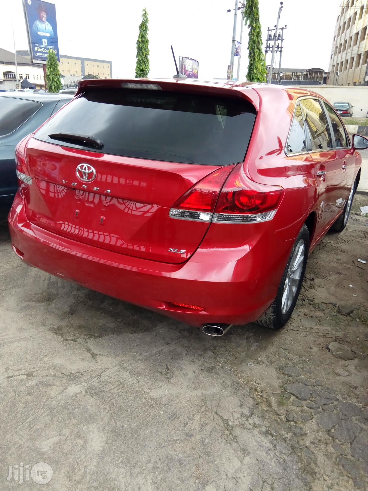 Toyota Venza 2015 Red | Cars for sale in Port-Harcourt, Rivers State, Nigeria