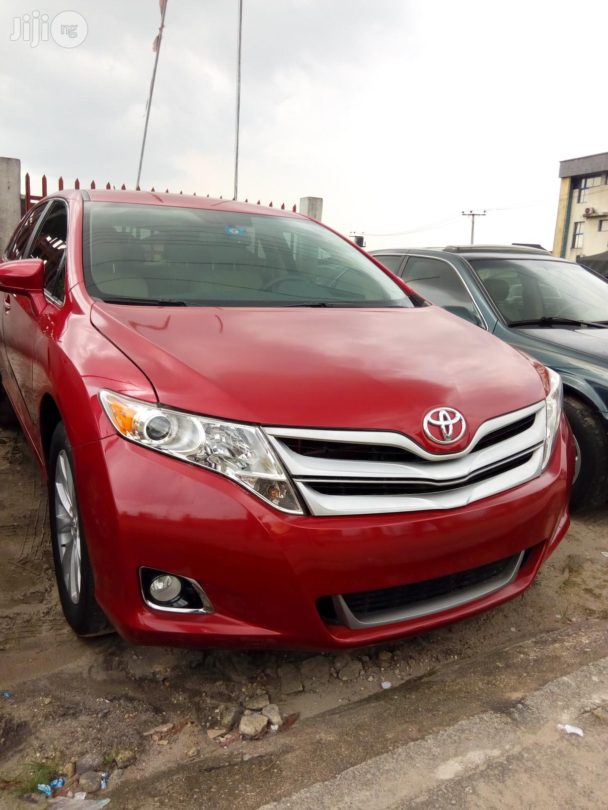 Toyota Venza 2015 Red