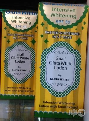Snail Gluta White Lotion | Bath & Body for sale in Lagos State, Amuwo-Odofin