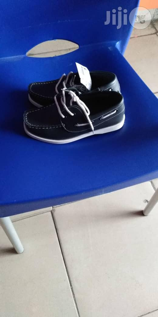 Navy Blue Boat Shoes For Boys