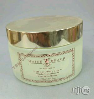 Maine Beach Half Caste Body Cream With Glutathione and Shea Butter | Bath & Body for sale in Lagos State