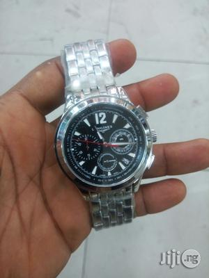 Longines Chronograph Silver Chain Watch | Watches for sale in Lagos State, Lagos Island (Eko)