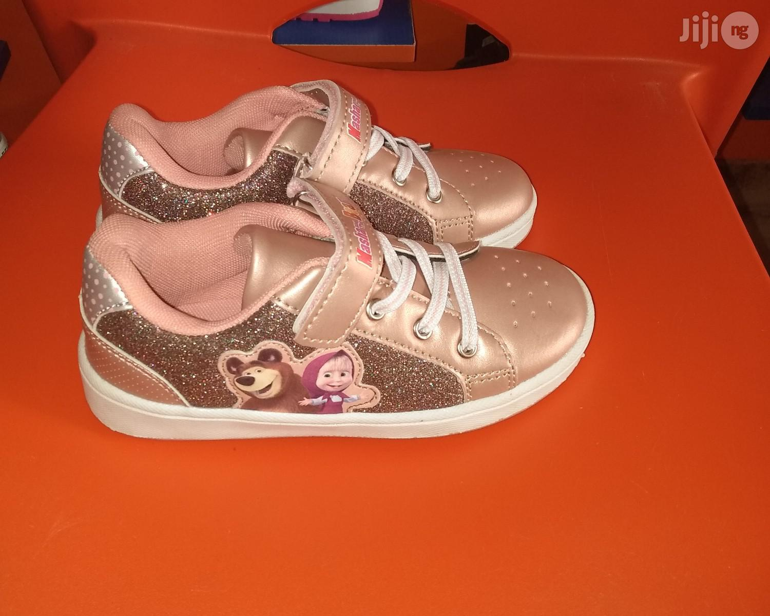 Rose Pink Sneakers for Girls