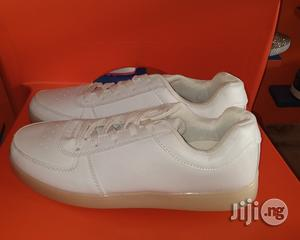 White LED Canvas Sneakers | Shoes for sale in Lagos State, Lagos Island (Eko)