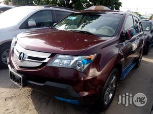 Acura MDX 2008 SUV 4dr AWD (3.7 6cyl 5A) Red | Cars for sale in Lagos State, Apapa