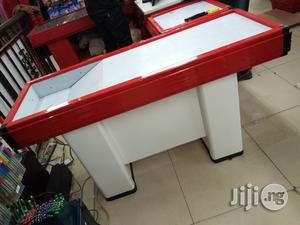 Supermarket Check Out Counter Or Cashier Desk | Store Equipment for sale in Lagos State, Lagos Island (Eko)