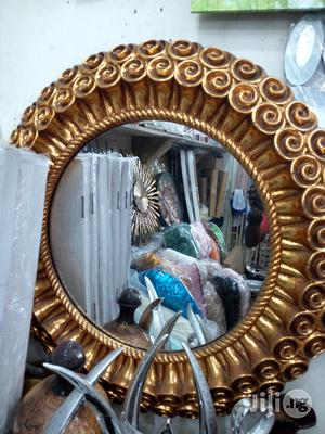 Golden Round Mirror | Home Accessories for sale in Lagos State, Surulere
