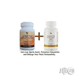 Forever Bee Pollen + Nature Min Premature Ejaculation | Vitamins & Supplements for sale in Lagos State, Ikeja