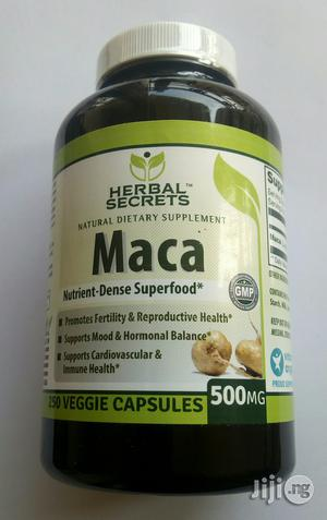 Maca for Hormonal Balance. 500mg of 250capsules | Sexual Wellness for sale in Lagos State, Alimosho