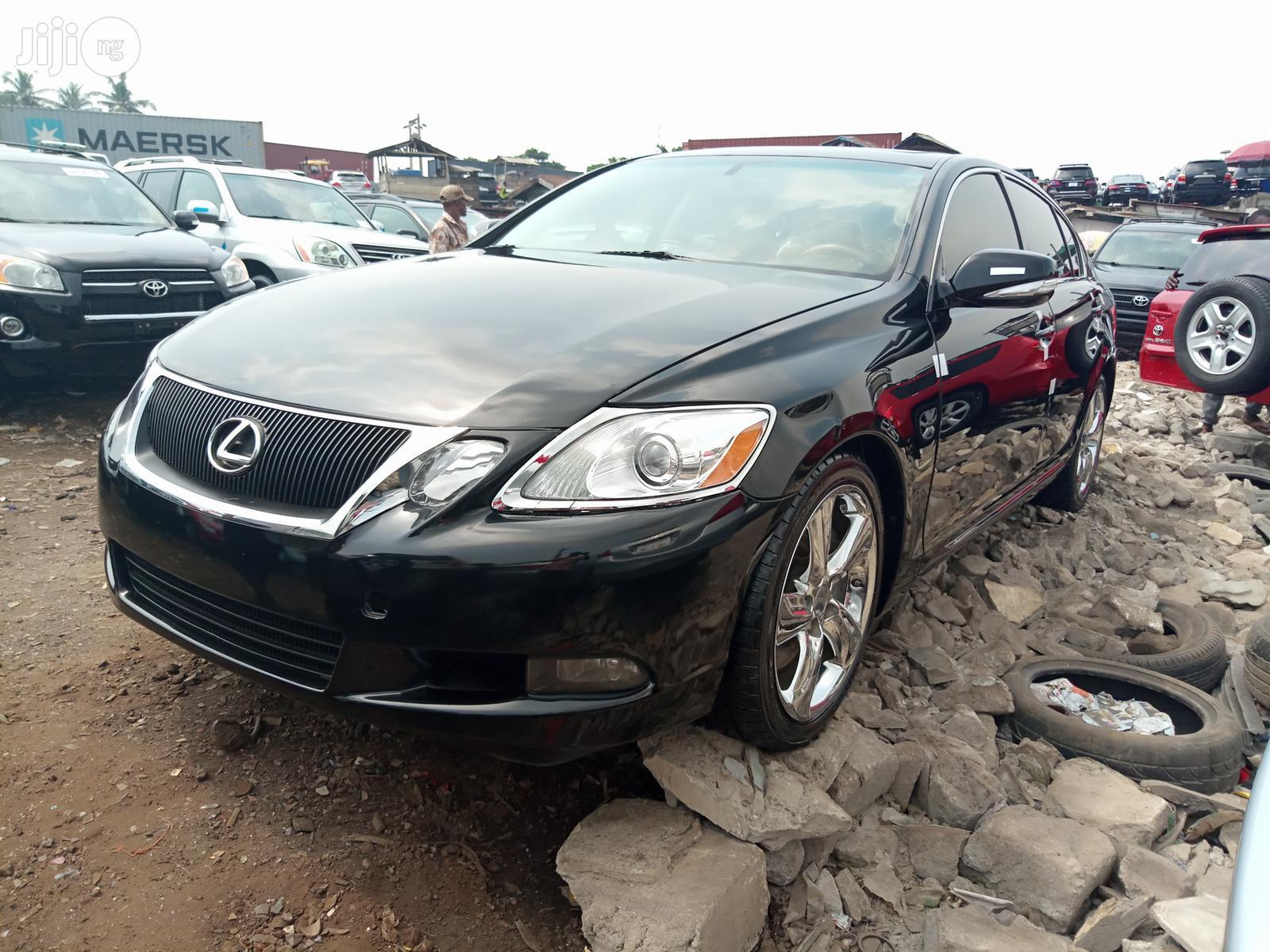 Lexus GS 2011 350 Black