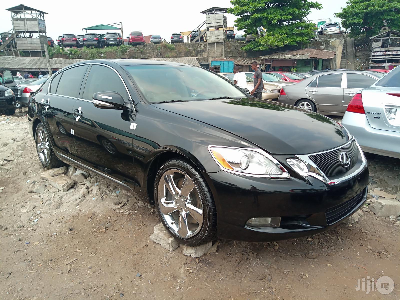Lexus GS 2011 350 Black   Cars for sale in Apapa, Lagos State, Nigeria