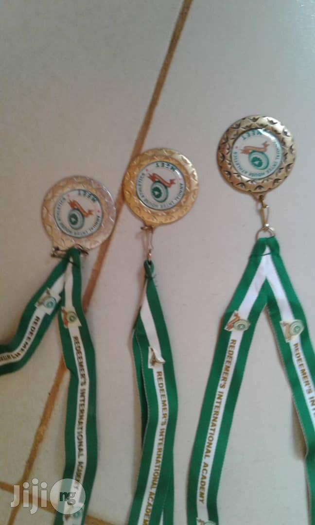 Sports Medal With Print
