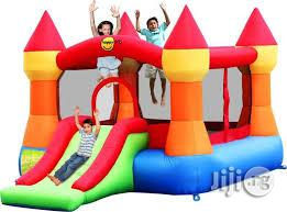 12ft Bouncing Castle With Slide   Toys for sale in Lagos State, Ikeja