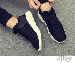 Men 2018 New Arrival Mesh Breathable Spring/Autumn Casual Shoes -Black | Shoes for sale in Lagos State, Agege