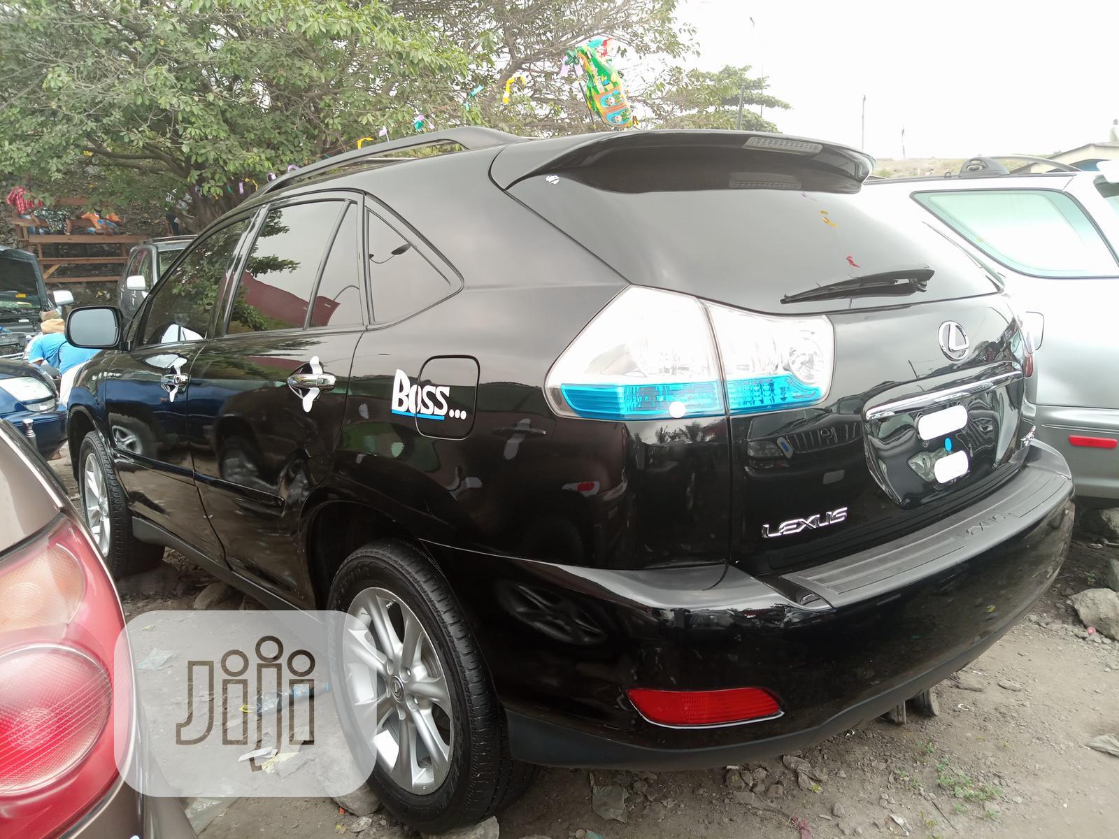 Archive: Lexus RX 2008 350 Black