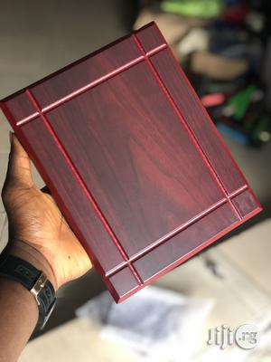 Wooden Award Plaque | Arts & Crafts for sale in Lagos State, Ajah
