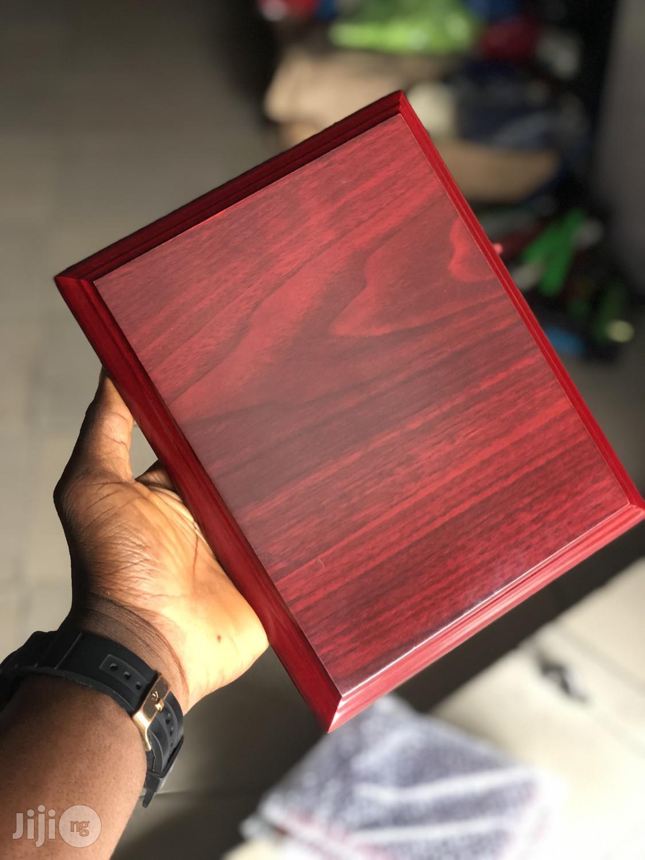 Award Plaque (Wood)