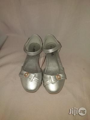 Silver Lowheeled Dress Shoe for Girls | Shoes for sale in Lagos State, Lagos Island (Eko)