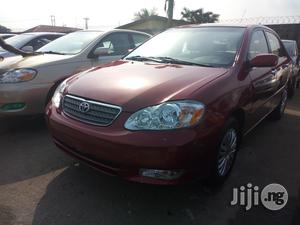 Toyota Corolla 2003 Sedan Automatic Red | Cars for sale in Lagos State, Apapa