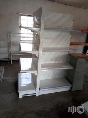 Single Sided And Double Sided High Quality Display Supermarket Shelves   Store Equipment for sale in Lagos State