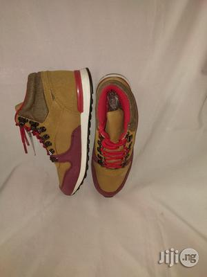 Brown High Top Canvas Sneakers for Boys   Children's Shoes for sale in Lagos State, Lagos Island (Eko)