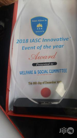 Acrylic Award Plaque | Arts & Crafts for sale in Lagos State, Apapa