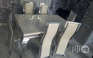 Marble Dining Table.   Furniture for sale in Lagos State, Yaba