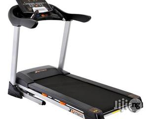 Jx Fitness 3hp Treadmill With Massager, Music and Incline   Massagers for sale in Lagos State, Surulere