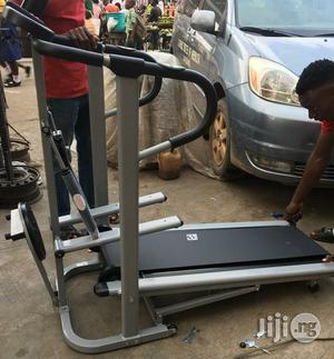 BF Manual Treadmill With Stepper and Twister   Sports Equipment for sale in Lagos State