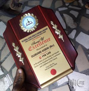 Award Wooden Plaques | Arts & Crafts for sale in Lagos State, Amuwo-Odofin