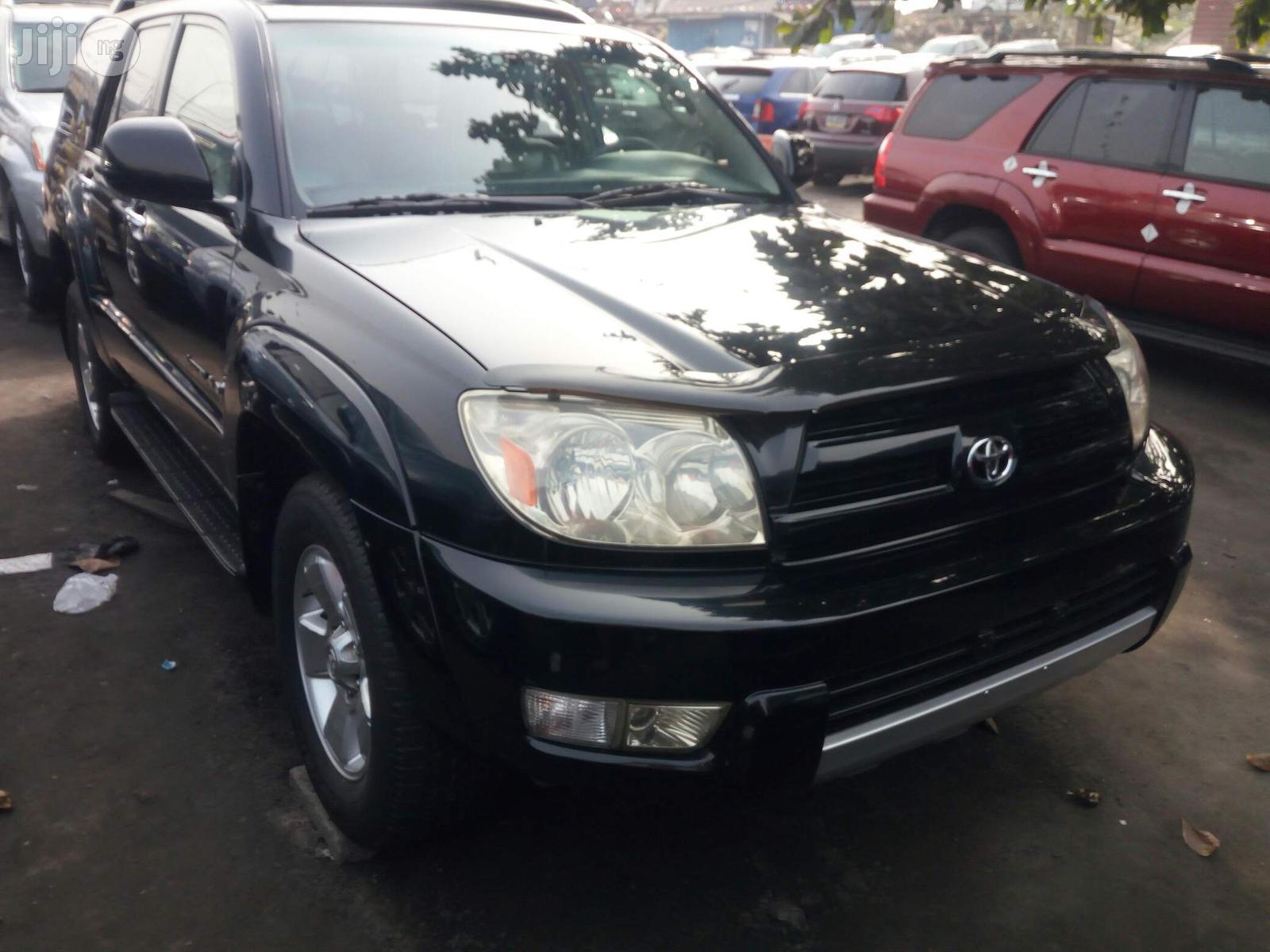 Toyota 4-Runner 2005 Limited V6 4x4 Black