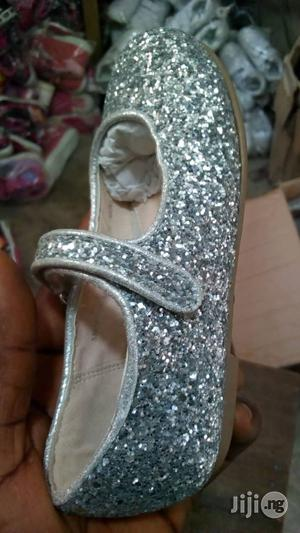 Silver Flat Dress Shoe for Girls | Shoes for sale in Lagos State, Lagos Island (Eko)