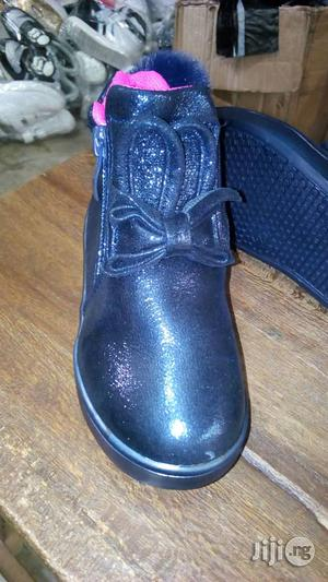 Navy Blue High Top Canvas With Light | Children's Shoes for sale in Lagos State, Lagos Island (Eko)
