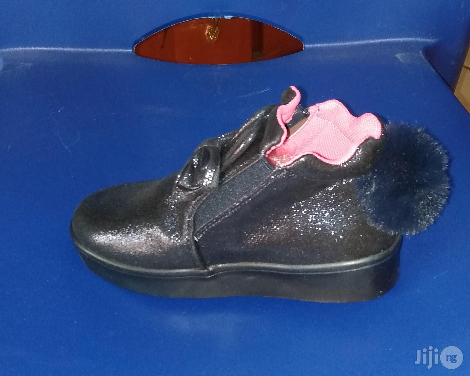 Navy Blue High Top Canvas With Light | Children's Shoes for sale in Lagos Island (Eko), Lagos State, Nigeria
