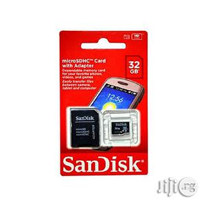 Sandisk 32GB Memory Card + Adapter 100% Durability | Accessories for Mobile Phones & Tablets for sale in Lagos State
