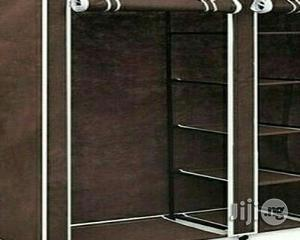 Generic Mobile Wardrobe With Wheels - Brown | Furniture for sale in Lagos State, Ajah