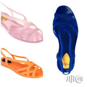 Original Urban Fashion Jelly Sandals For Women   Shoes for sale in Lagos State, Lekki