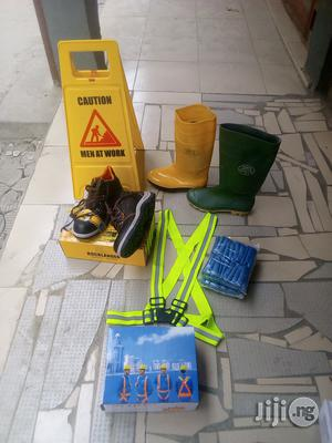 Safety Belt & Rainboot & Shoe Cover & Safety Boot.   Shoes for sale in Ogun State, Ijebu