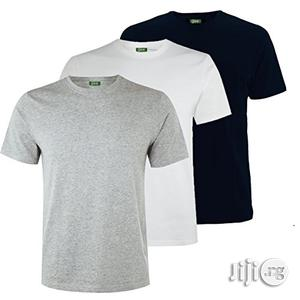 White, Black and Grey Simple Tees | Clothing for sale in Lagos State, Ikeja