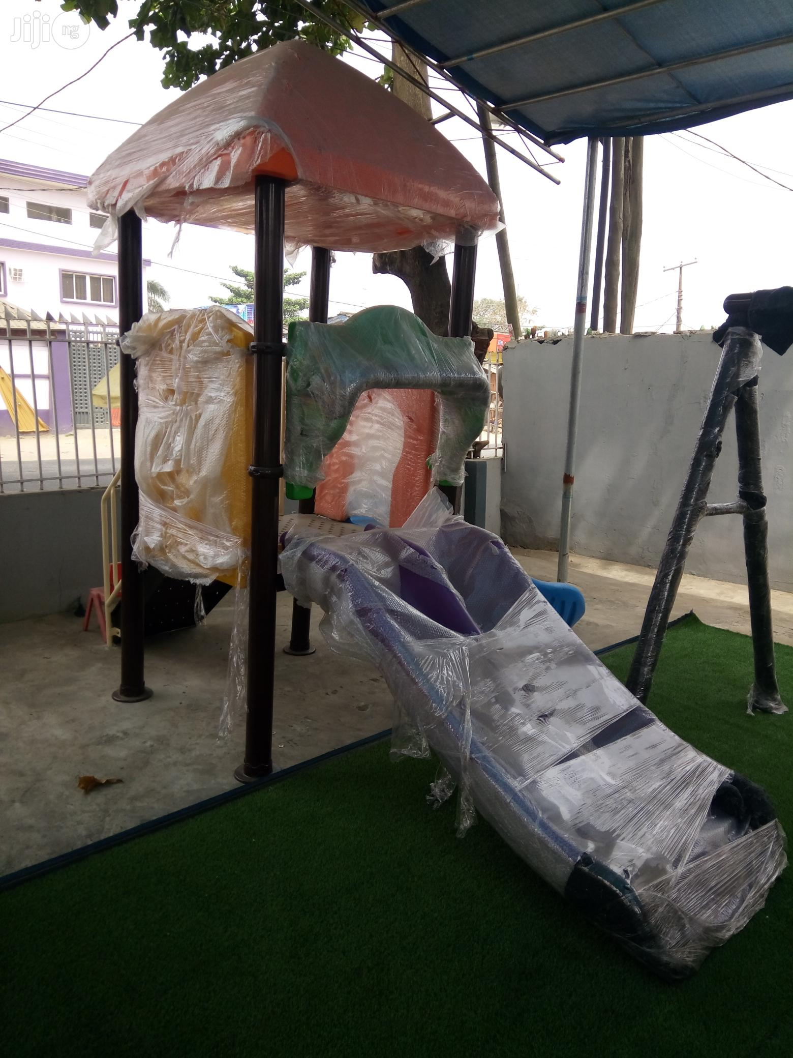 Available Now For Sale, Single Playground House With Slides