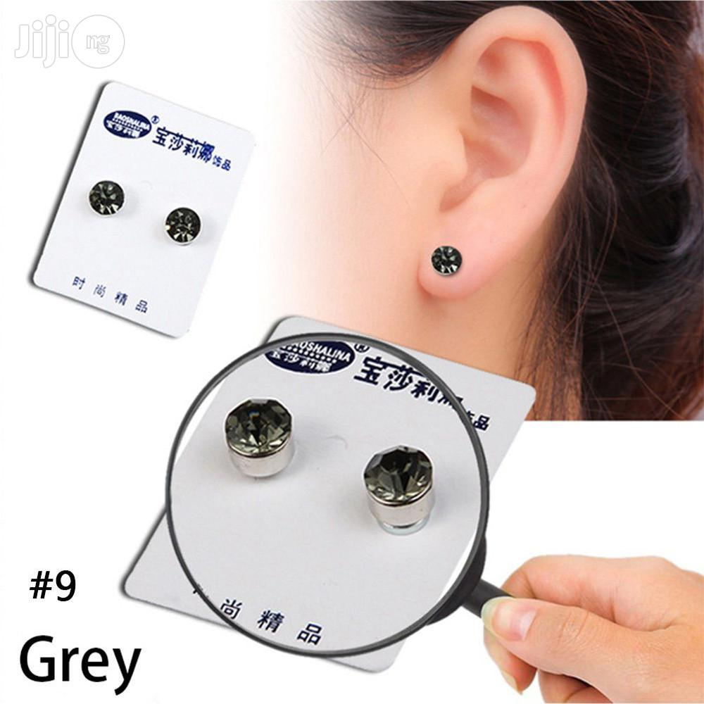 Earrings Slimming Patch Lose Weight Magnetic Health Jewelry