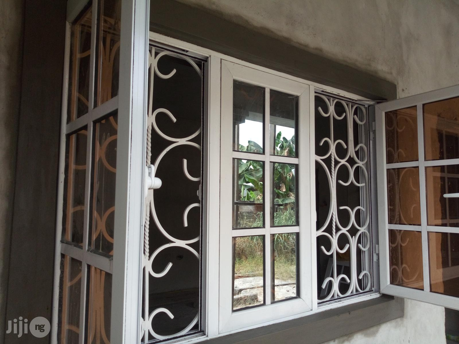 Casement Windows With 14mm Square Rod Protectors