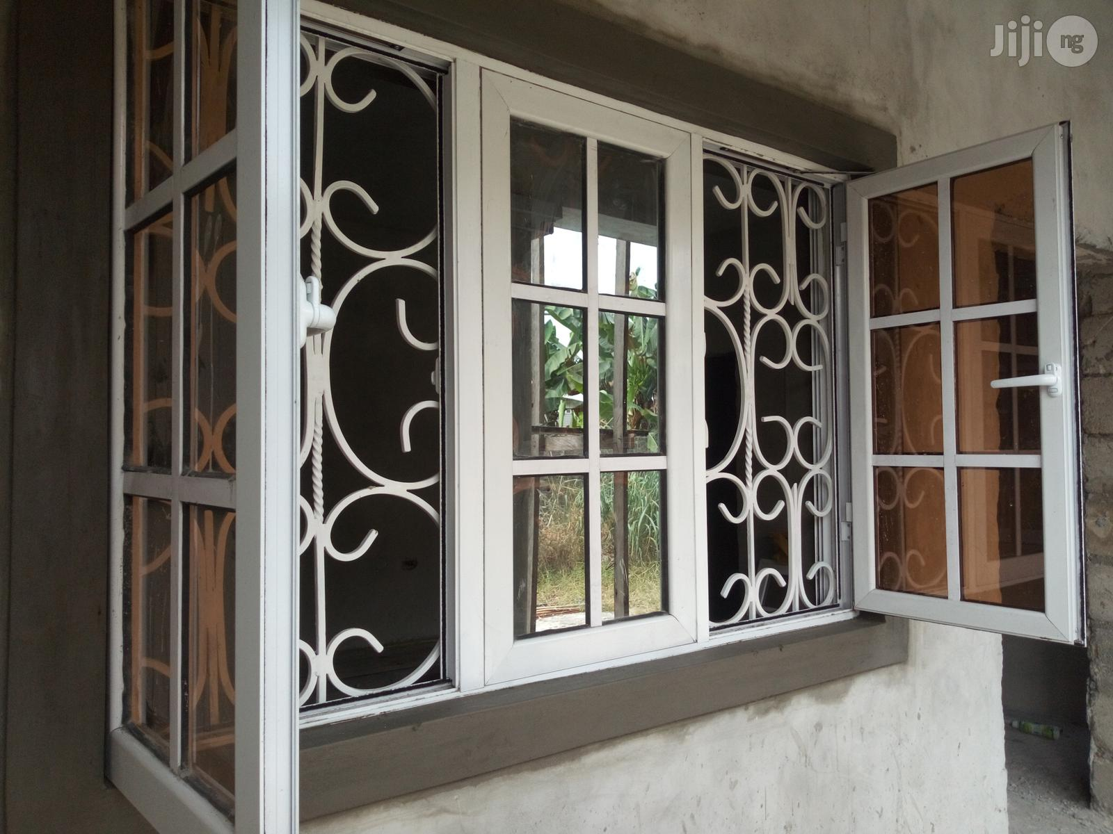 Casement Windows With 14mm Square Rod Protectors   Windows for sale in Port-Harcourt, Rivers State, Nigeria