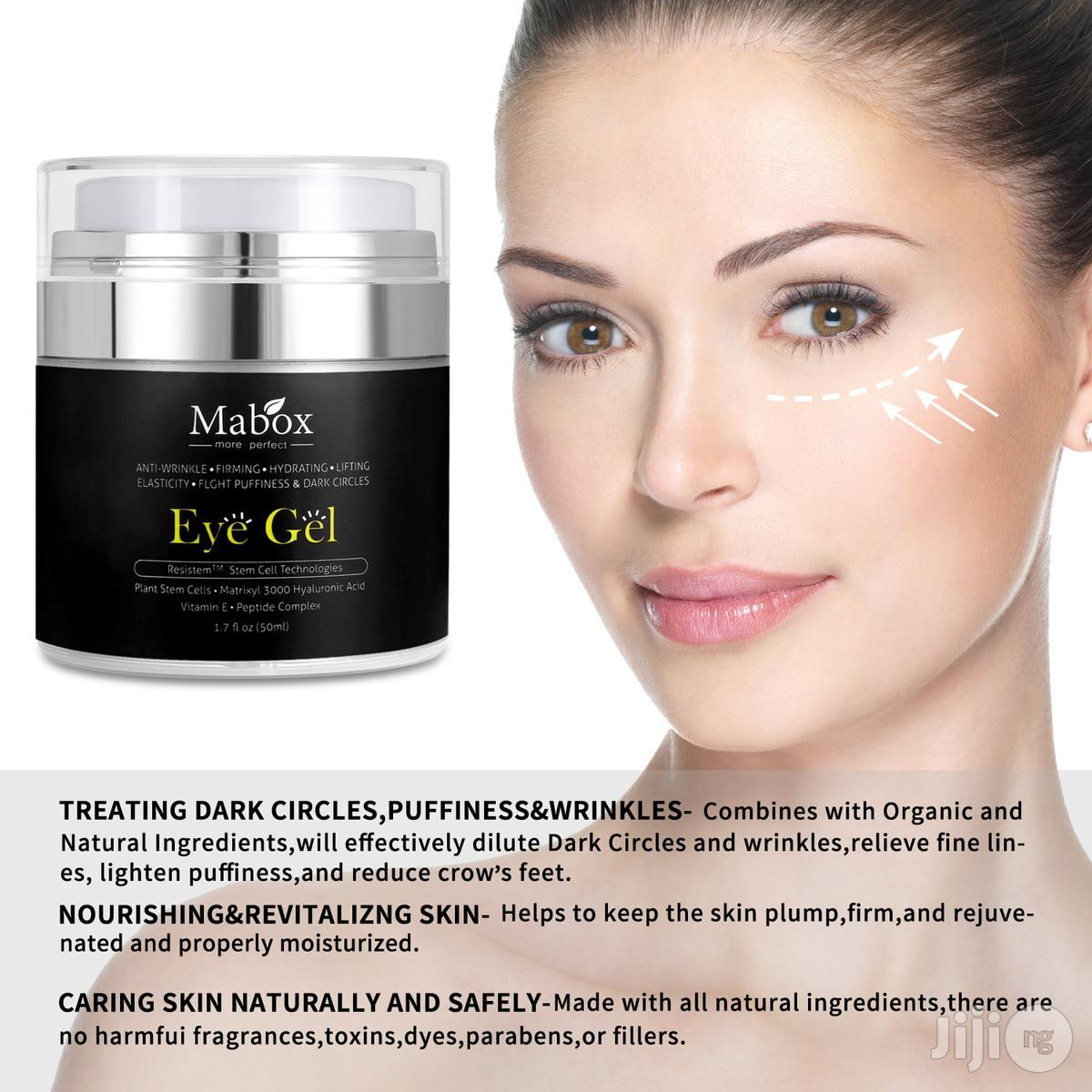 Mabox Natural Eye Gel For Appearance Of Dark Circles Puffiness Wrinkle