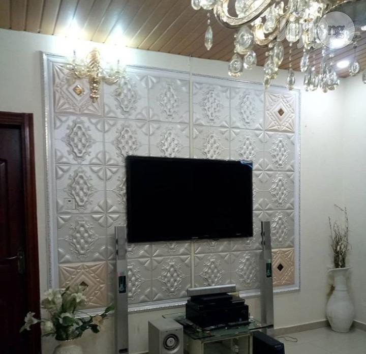 3D Pure Leather Luxury Panels