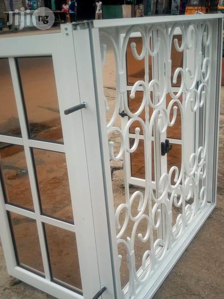 Casement Window With Inbuilt Burglary Proof